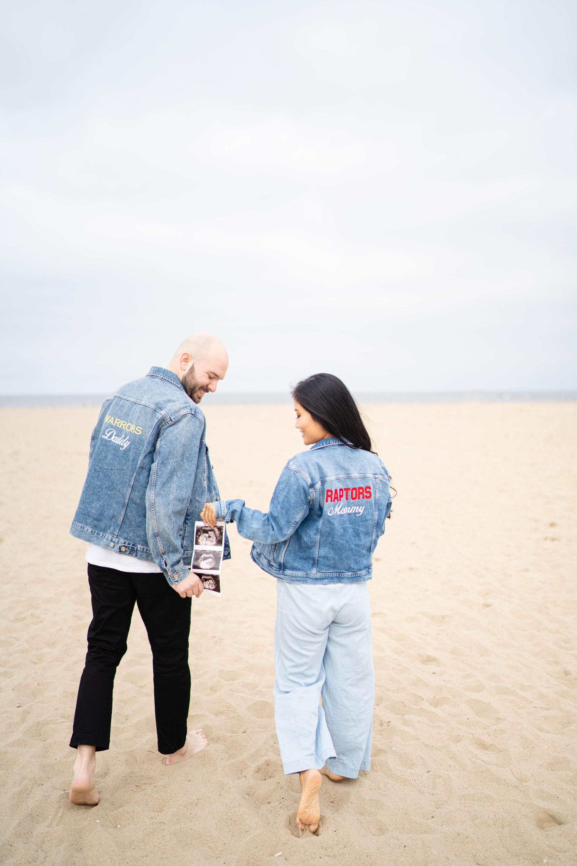 Pregnancy Announcement Photos At Santa Monica Pier Akiko Liu Photos